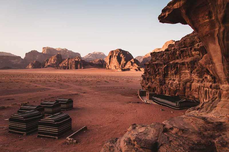 The Martian Desert of Wadi Rum